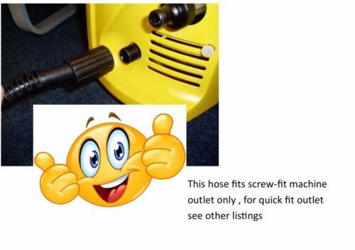 22//NS TR 5m Hose KARCHER K2 HOSE  Yellow C Clip//Button Click Quickfit Trigger