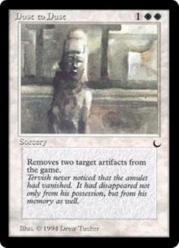 Dust to Dust x4 The Dark MtG NM