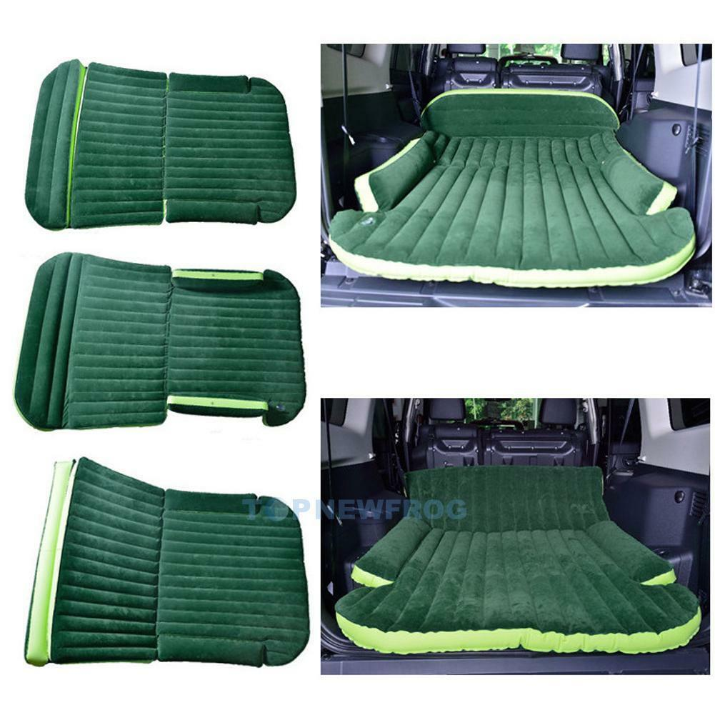SUV Inflatable Air Bed Mattress voyage Seat Camping Moisture-proof Pad w  Pump