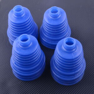 4x-Car-Silicone-Constant-Velocity-Anti-Dust-CV-Boot-Cover-Homokinetic-Joint-Kit