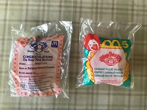 1994 Cabbage Patch Kids unopened McDonald/'s Happy Meal toy Happy Birthday