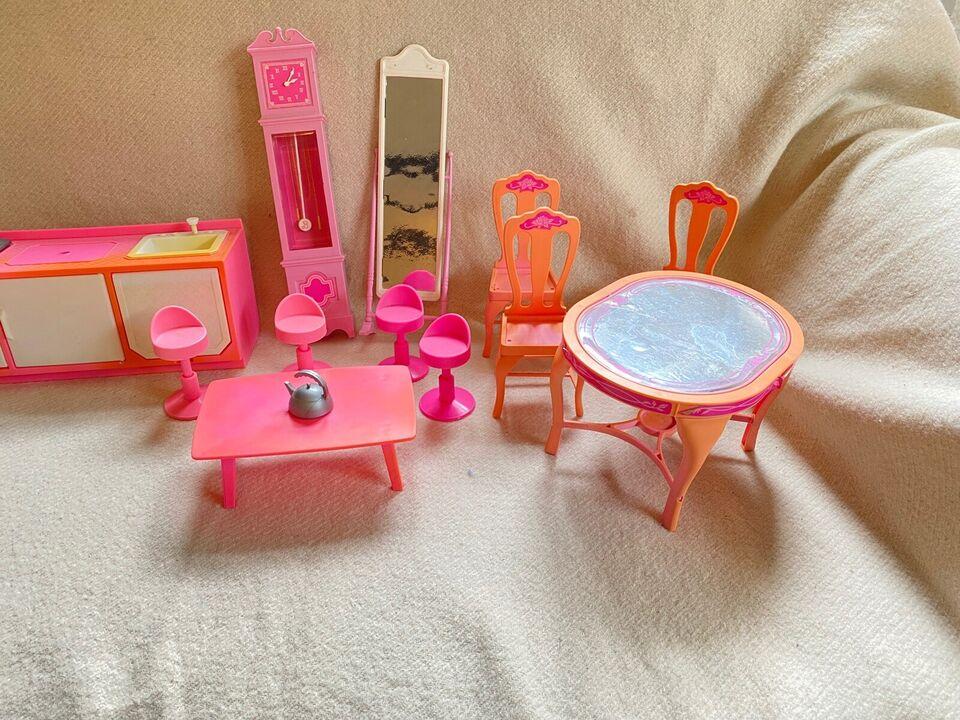 Barbie, Møbler