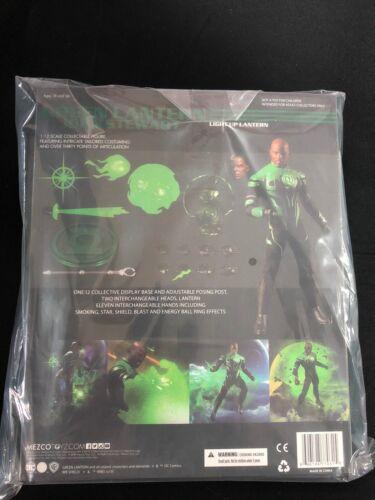Mezco Collective GREEN LANTERN JOHN STEWART Figure DC Comics Justice League