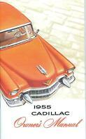 1955 Cadillac Owner's Manual