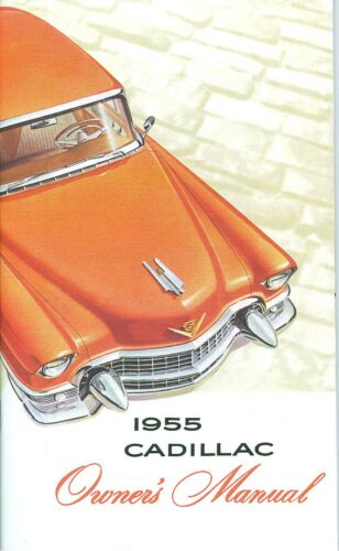 1955 CADILLAC OWNER/'S MANUAL
