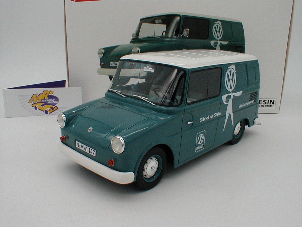 Schuco 00124-VW FRIDOLIN tipo 147 anno di costruzione 1964  Servizio Clienti Vw  1:18 novità