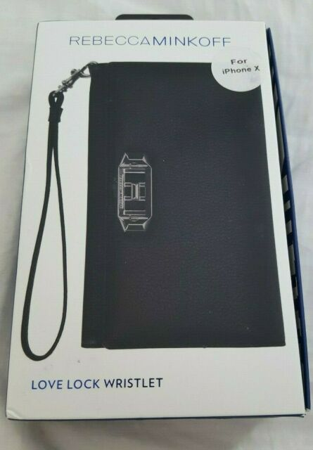 buy popular 58f5d 33b6f Rebecca Minkoff iPhone X Love Lock Tech Wristlet Case