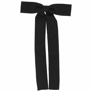 Clip-on-COLONEL-TIE-Black-String-Tie-Square-Dance-Western-Bow-Kentucky