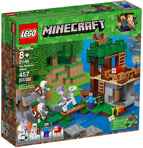 LEGO-Minecraft-21146-Die-Skelette-kommen-The-Skeleton-Attack-Neu-OVP
