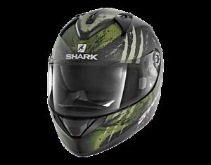 NEU-SHARK-Helm-Ridill-Threezy-oliv-gruen-matt-L-59-60-Motorradhelm-Sonnenblende