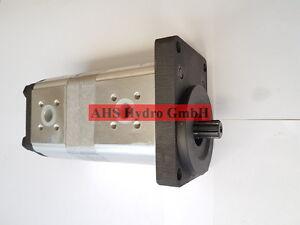 Pompe Hydraulique Pour Zettelmeyer Avec 17+8 Cc Zahnwelle 9 Dents Zettelmeyer Zl501-afficher Le Titre D'origine