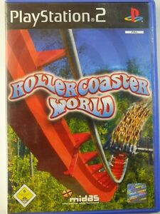 PlayStation-PS2-Game-RollerCoaster-World-USED-BUT-GOOD