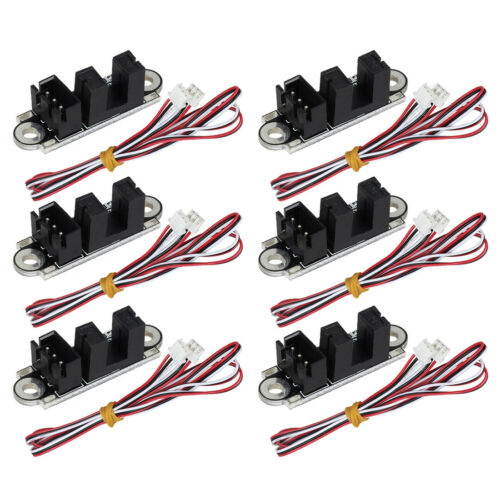 6X 3D Printer Optical Endstop Photoelectric Light Optical Limit Switch /& 1M Wire