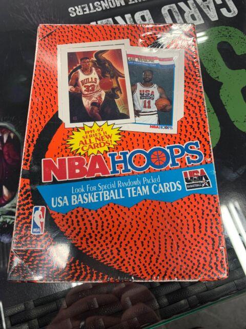 Factory Sealed Box 1991-92 NBA Hoops Series Two - Basketball