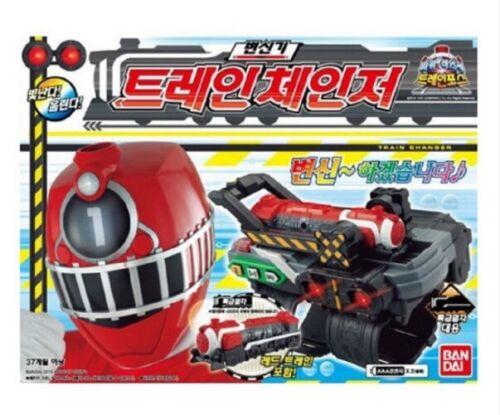 Bandai Power Rangers ToQger Train Force ToQChanger Action Figures Toys Kids