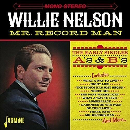 Willie Nelson - Mr. Record Man: Early Singles As & BS [New CD] UK - Import