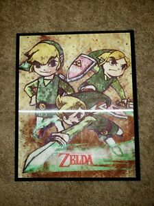 Legend Of Zelda The Windwaker Picture Wall Plaque Minish Cap Decor 2017 Nintendo