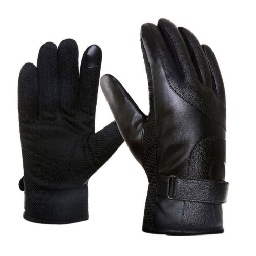 Adult Thermal Cycling Snow Skiing Gloves Waterproof Touch Screen Winter Warm