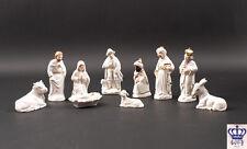 Porzellan-Figur Porzellan Weihnachtskrippe Wagner & Apel Thüringen NEU 9942156