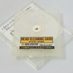 HEAD-CLEANING-CARD-HVC-030-Nintendo-Famicom-Disk-Card-Only-0921-dk