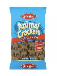 Lot-4-Large-Bags-Stauffers-Chocolate-Animal-Crackers-20-oz-Each