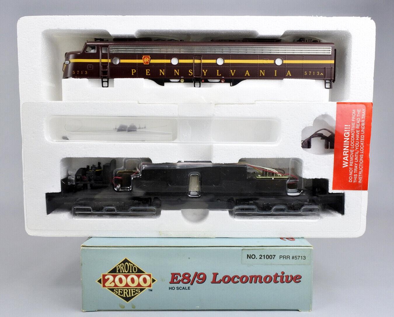 Projoo 2000 HO Scale 21007 Pennsylvania E8 9 Diesel Motor  5713