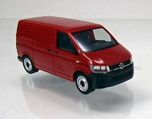 Herpa-028721-Volkswagen-VW-T6-Kastenwagen-kirschrot-Scale-1-87-NEU-OVP