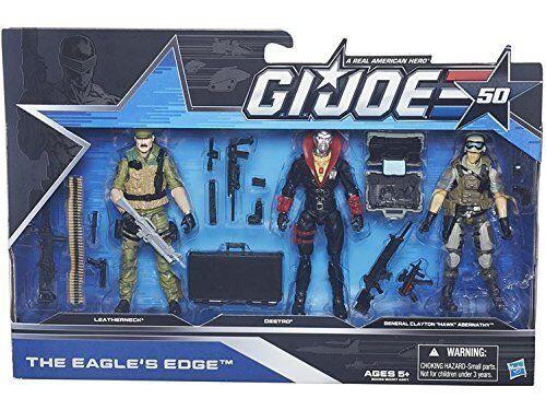 G.I. Joe 50th Anniversary THE EAGLE'S EDGE Action Figure Set NEW SEALED
