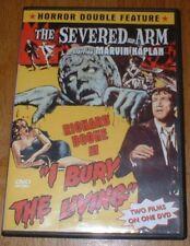 THE SEVERED ARM / I BURY THE LIVING starring MARVIN KAPLAN (DVD)LIKE NEW RARE