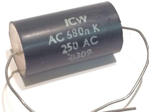 ICW  0.68uF 680nF 250Vac POLYPROPYLENE AXIAL CAPACITOR                    fd5e35