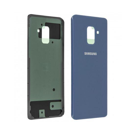 Cache Batterie Samsung Galaxy A 5 ( 2018 ) Bleu - Adhesif Inclus