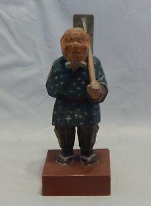 Vintage-Wood-Carved-Figure