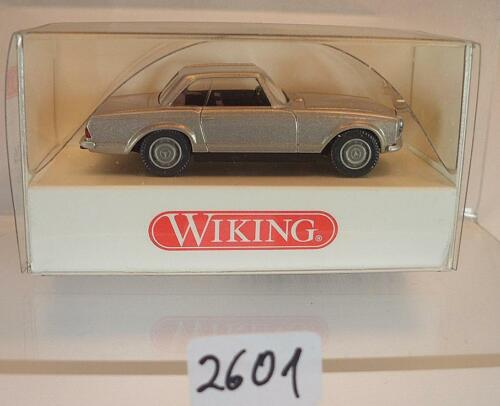 Wiking 1//87 nº 834 36 26 mercedes benz 280 sl Coupe humo plata OVP #2601