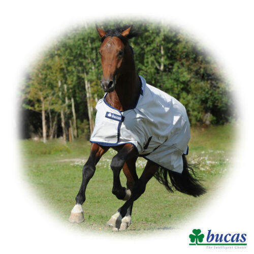 Bucas SUN SHOWER Light Weight TURNOUT RUG For Horses & Ponies