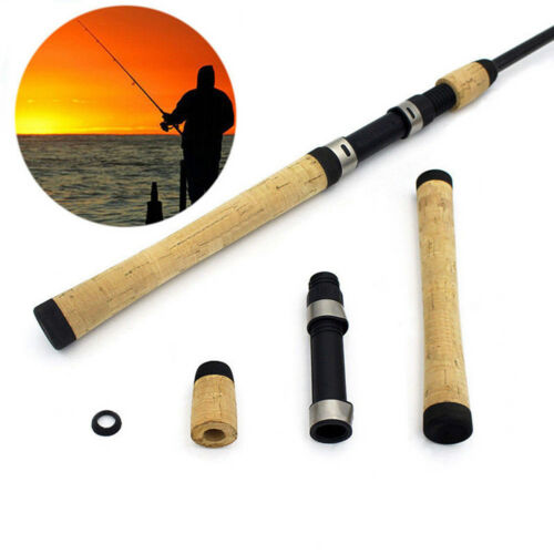 AB/_ EP/_ Composite Cork Spinning Fishing Rod Handle for Rod Building Grip with Re