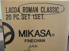 MIKASA ROMAN CLASSIC 4 - 5 SETTING NEW IN BOX.. 20 PIECES
