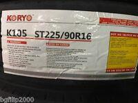 2 Tire St750r16 14ply K105 Koryo All Steel Radial Trailer Tire 225/90r16