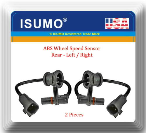 2 x ABS Wheel Speed Sensor Rear L/&R Fits:OEM#25913456  Equinox Terrain 2010-2015
