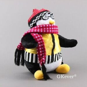 RARE-18-034-HARD-TO-FIND-HUGGSY-PENGUIN-WITH-GOGGLES-AND-VEST-FRIENDS-Joey-039-s-hugsy