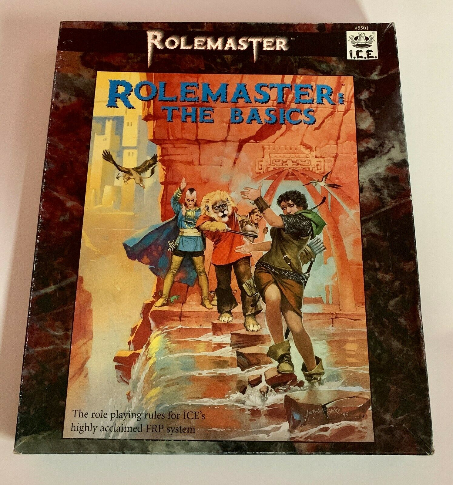 ROLEMASTER THE BASICS RPG BOX BOXED SET by I.C.E.
