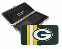Green Bay Packers Ladies Mesh Hard Shell Wallet Nfl