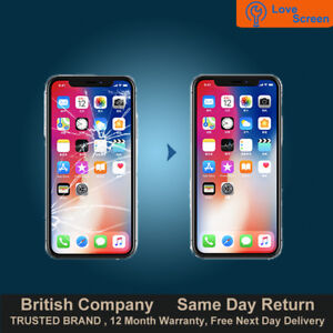 big sale 2569d 344e6 Details about iPhone X LCD OLED Screen Display Glass Replacement Service  Same day Repair