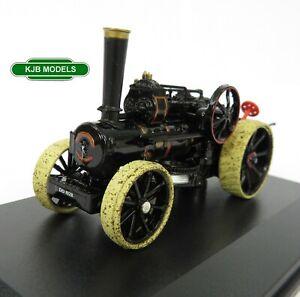 BNIB-OO-GAUGE-OXFORD-1-76-76FBB004-Fowler-BB1-Ploughing-Engine-No-15337-Louisa