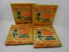 Vintage Super 8 mm Film The League Of Gentlemen - 4 Reel Abridged B/W With Sound