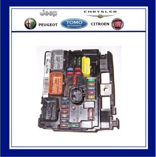 BSM C3 Picasso /& Pluriel New Genuine OE Citroen Engine Bay Fuse Box Fits C3