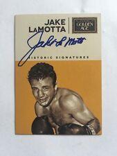 Jake Lamotta Raging Bull Autograph 2014 Panini Golden Age Auto Card Signed Mint