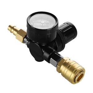 """1//4/"""" Druckminderer Druckregler Druckregelventil Mit Manometer Für Luftkompressor"""