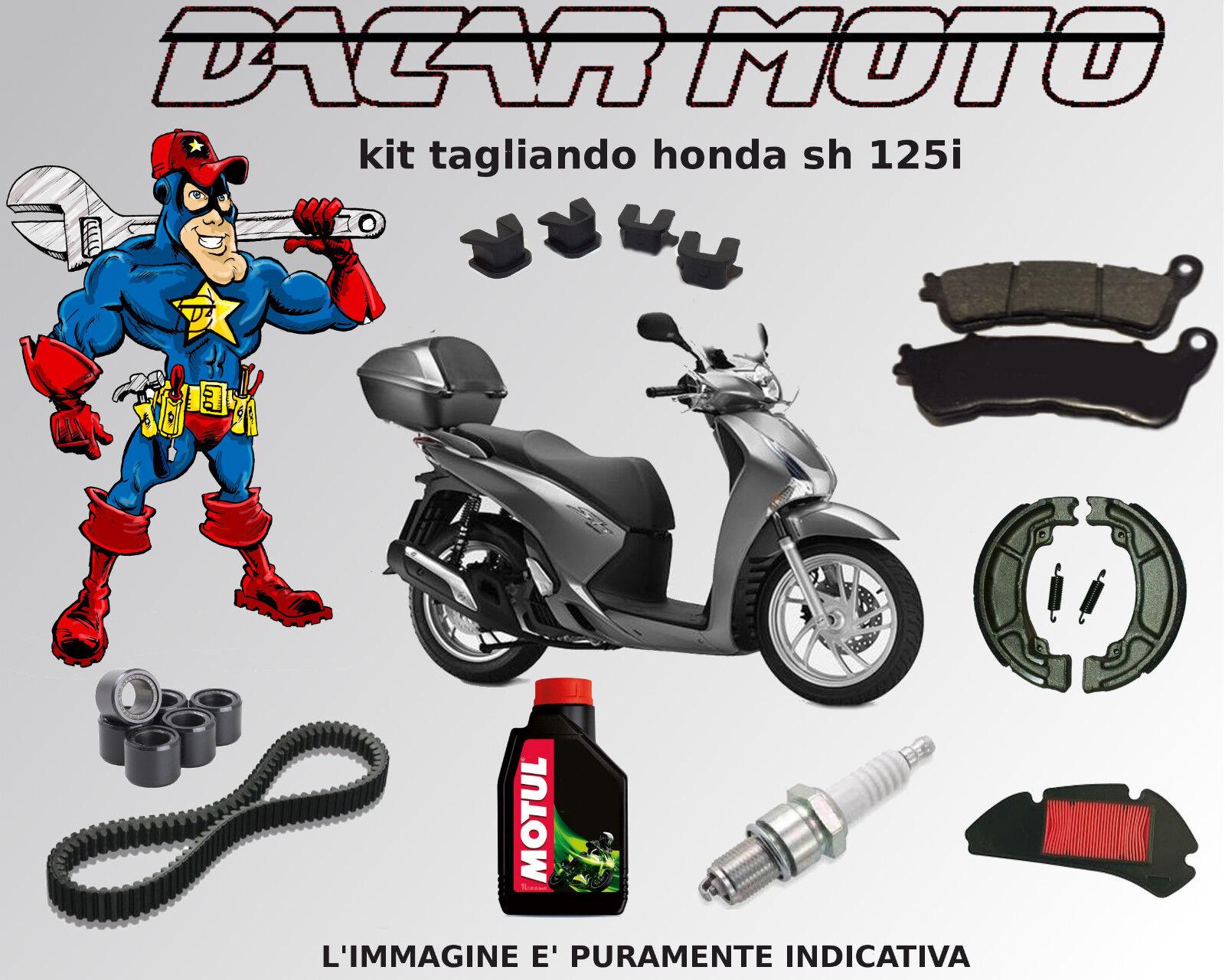Servicesatz Honda Sh 150i 2005 2006 2007 2008 Gürtel-walzen-pads-öl