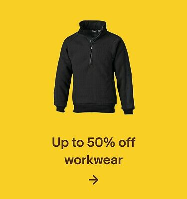 Up to 50% off workwear