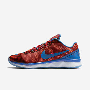 best website dcfb3 690da Nike CJ3 Flyweave Trainer Shoes Bowling Sizes 9.5 10 Red Blue 725231 ...